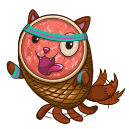 HamCat Facebook sticker #15