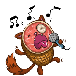 HamCat Facebook sticker #18