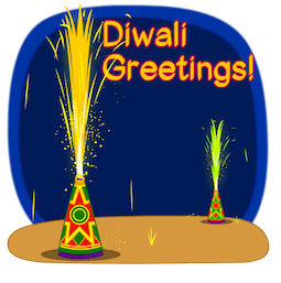Joyeux Diwali Facebook sticker #2