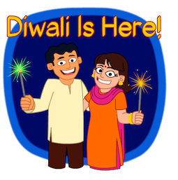 Joyeux Diwali Facebook sticker #9