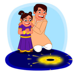 Joyeux Diwali Facebook sticker #12