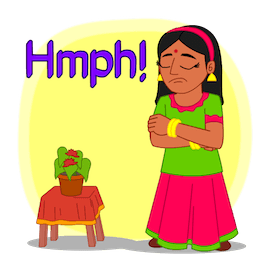 Joyeux Diwali Facebook sticker #24