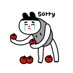 Hallo Moonk Facebook sticker #13
