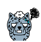 Fuerza animal Facebook sticker #40