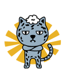 Fuerza animal Facebook sticker #42