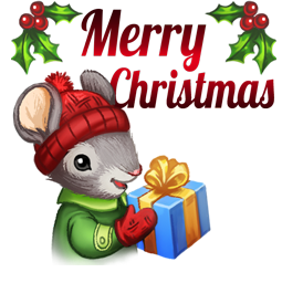 Facebook / Messenger Home for the Holidays sticker #3