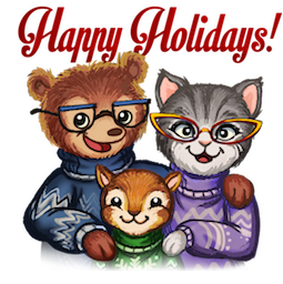 Home for the Holidays Facebook sticker #8