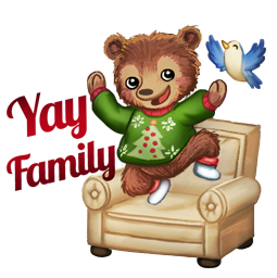 Home for the Holidays Facebook sticker #10
