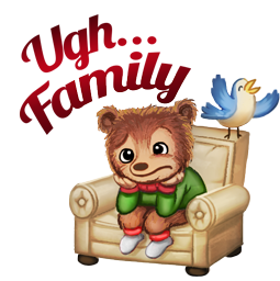 Home for the Holidays Facebook sticker #16