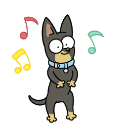 Facebook / Messenger It`s A Dog`s Life Sticker #13