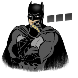 Facebook Justice League stickers