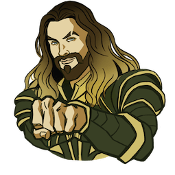 Justice League Facebook sticker #3