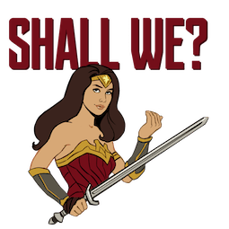 Justice League Facebook sticker #13