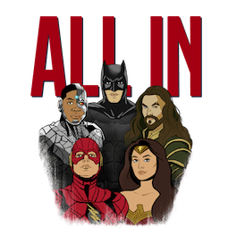 Justice League Facebook sticker #15