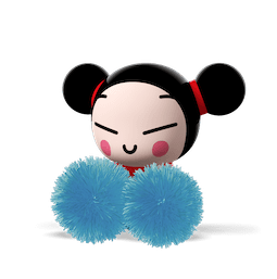 Bisou, Amour, Pucca Facebook sticker #4