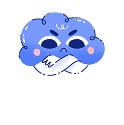 Kumo Facebook sticker #2