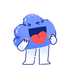 Kumo Facebook sticker #9