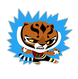 Kung Fu Panda Facebook sticker #3