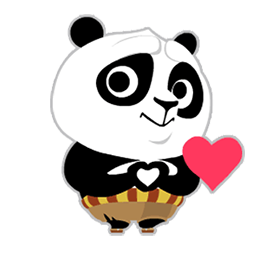 Kung Fu Panda Facebook sticker #4