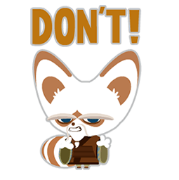 Kung Fu Panda Facebook sticker #5