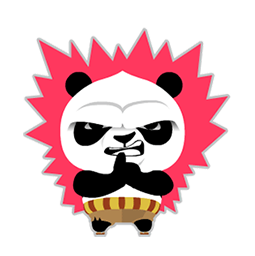 Kung Fu Panda Facebook sticker #6