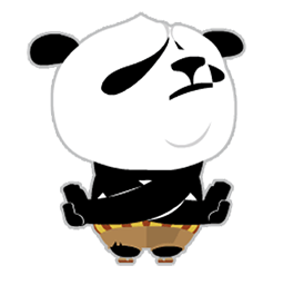 Kung Fu Panda Facebook sticker #7