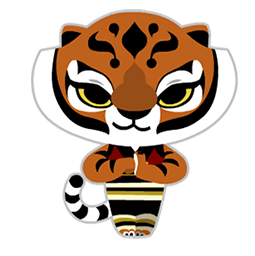 Kung Fu Panda Facebook sticker #8