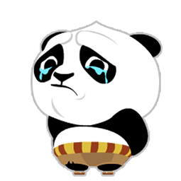 Kung Fu Panda Facebook sticker #16