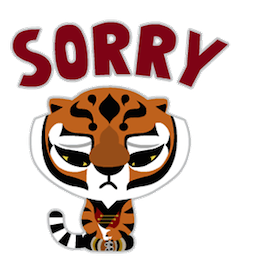 Kung Fu Panda Facebook sticker #17