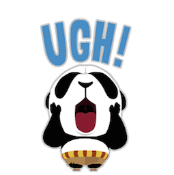 Kung Fu Panda Facebook sticker #18