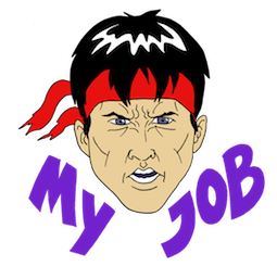 Kung Fury Facebook sticker #7