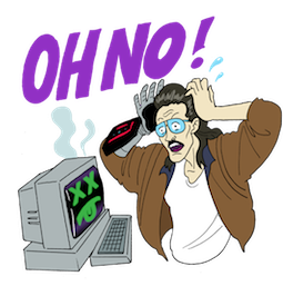 Kung Fury Facebook sticker #20