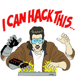 Kung Fury Facebook sticker #21