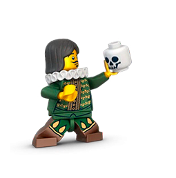 Minifiguras LEGO Facebook sticker #4