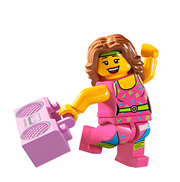 Minifiguras LEGO Facebook sticker #23