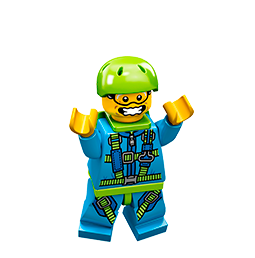 Minifiguras LEGO Facebook sticker #26