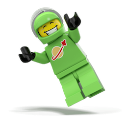 Minifiguras LEGO 2 Facebook sticker #3