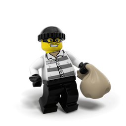 Minifiguras LEGO 2 Facebook sticker #15
