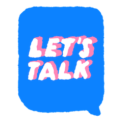 Facebook Let`s Talk stickers