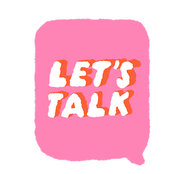Let's Talk Facebook sticker #16