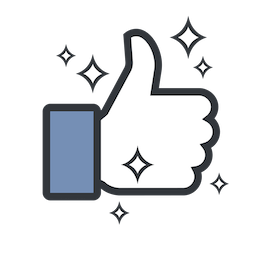 Likes Facebook sticker #3