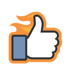 Likes Facebook sticker #9