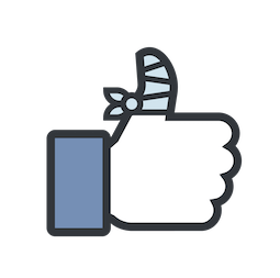 Likes Facebook sticker #11
