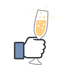 Likes Facebook sticker #12