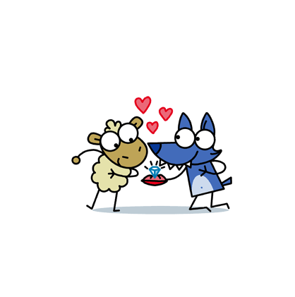 Love is in the Air Facebook sticker #4