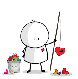 Love, Bigli Migli Facebook sticker #17