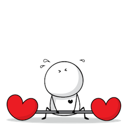 Love, Bigli Migli Facebook sticker #19