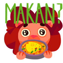 Maju Lion Facebook sticker #8