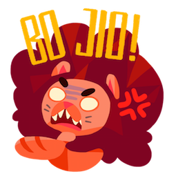 Maju Lion Facebook sticker #9