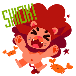 Maju Lion Facebook sticker #10